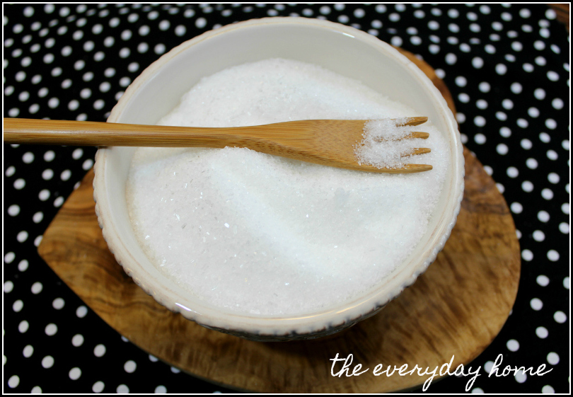 DIY Bath Epsom Salts | The Everyday Home