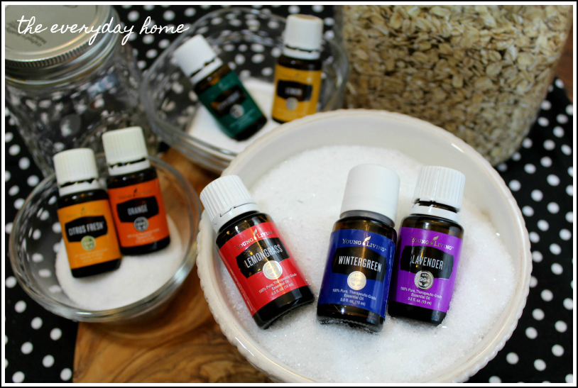 DIY Bath Salts Oils | The Everyday Home