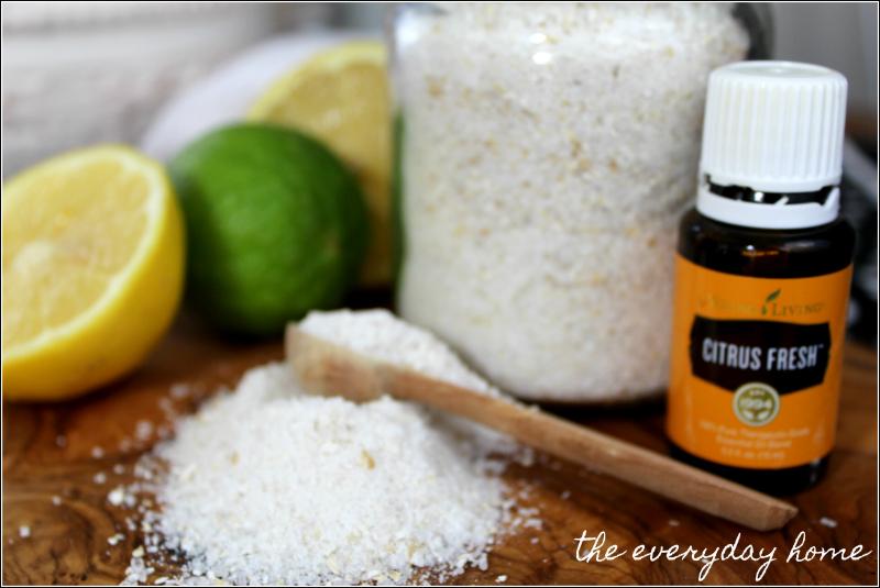 DIY Citrus Bath Salts | the everyday home