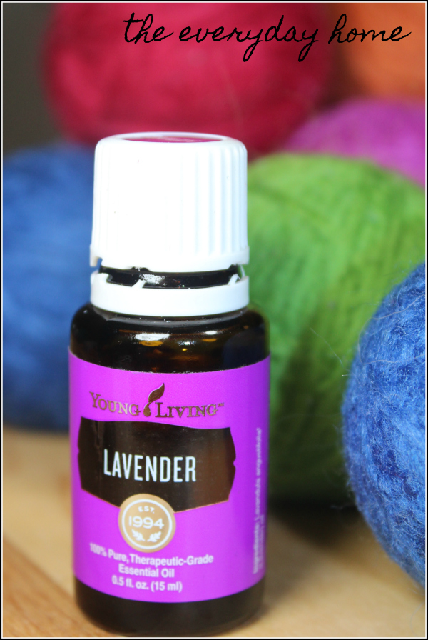 DIY Dryer Balls Lavender | the everyday home