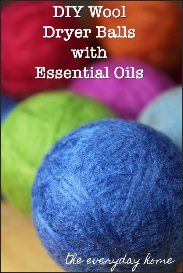 DIY Wool Dryer Balls | the everyday home
