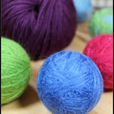 Do It Yourself Wool Dryer Balls with Essential Oils