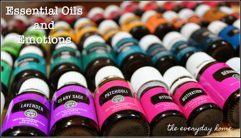 Essential Oils & Emotional Wellness | the everyday home