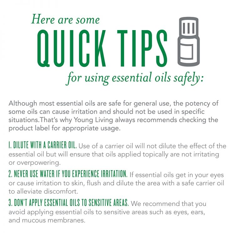 Quick Tips for using Essential Oils | the everyday home