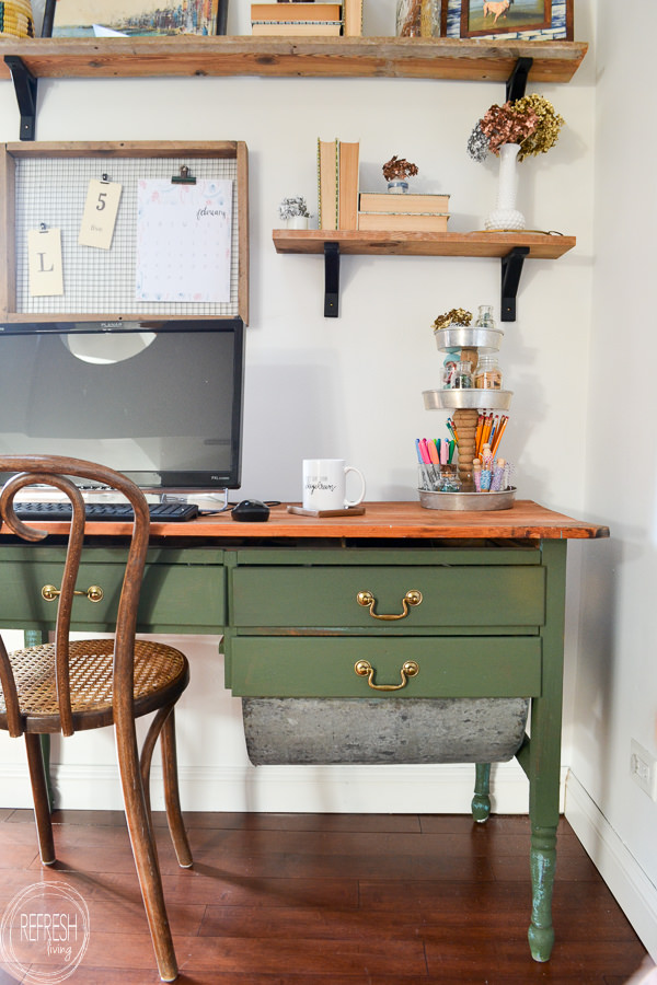 modern farmhouse office desk it one more time 109 the everyday home 184